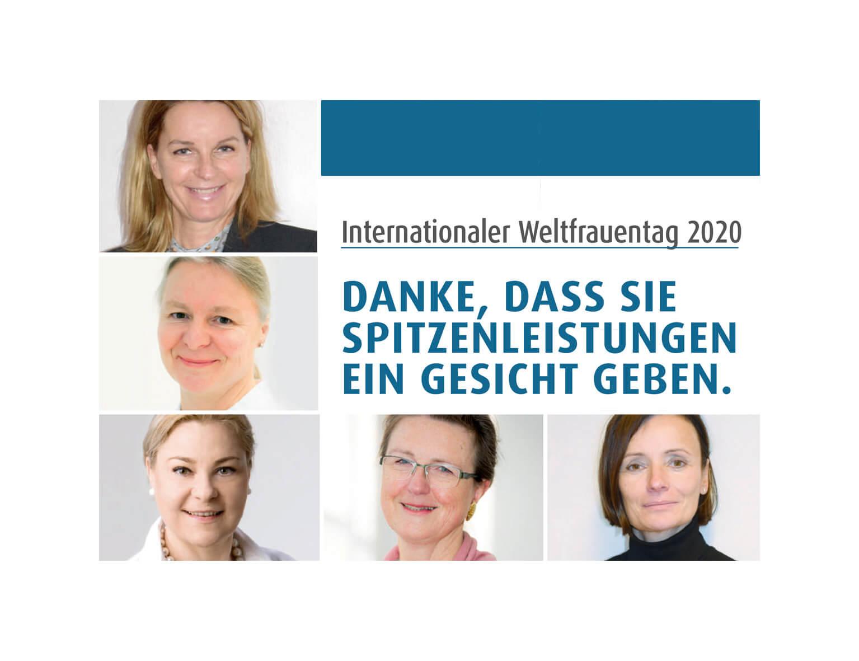 08.03. Weltfrauentag – wir feiern unsere weiblichen Führungskräfte