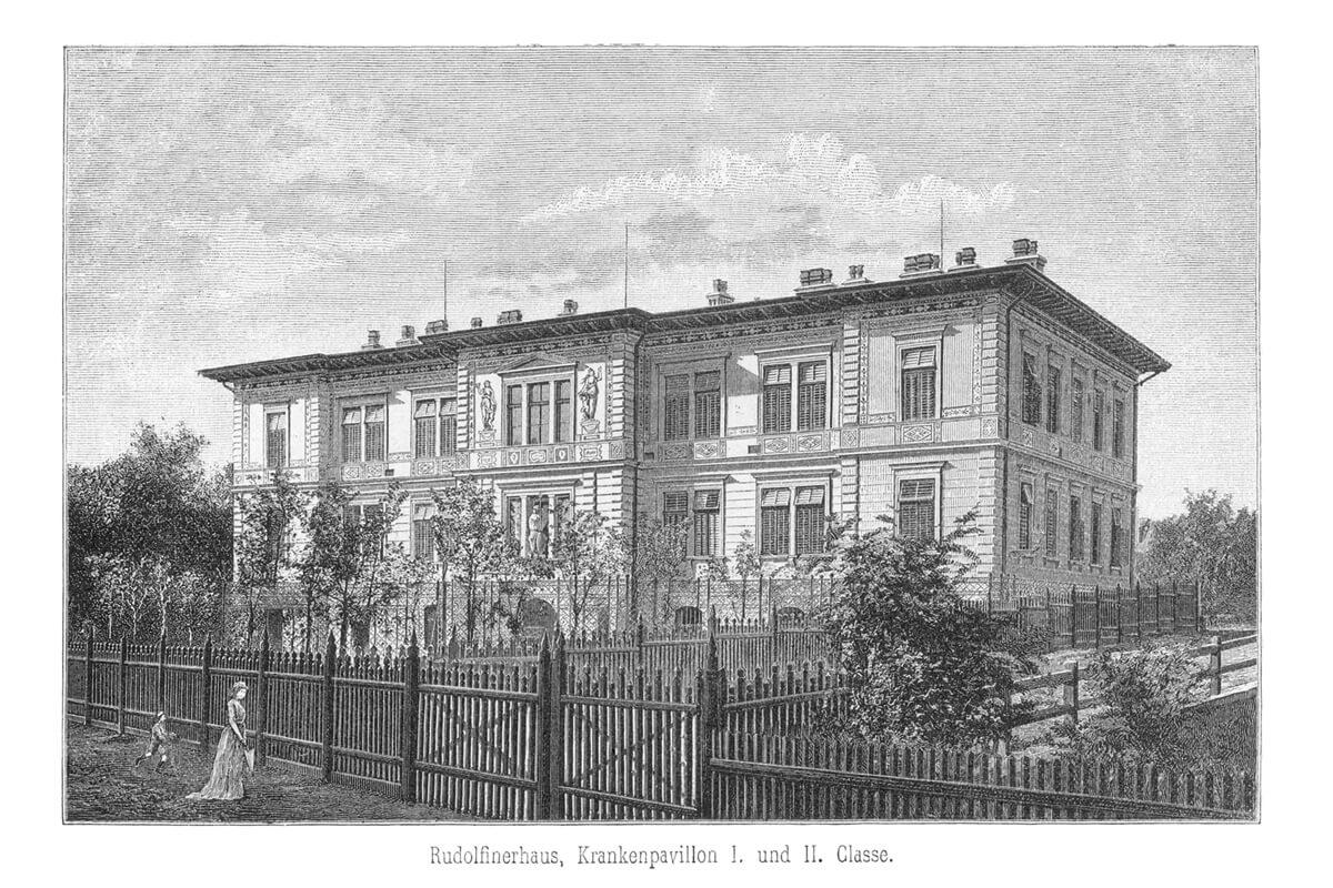 Historisches Foto Rudolf Pavillon