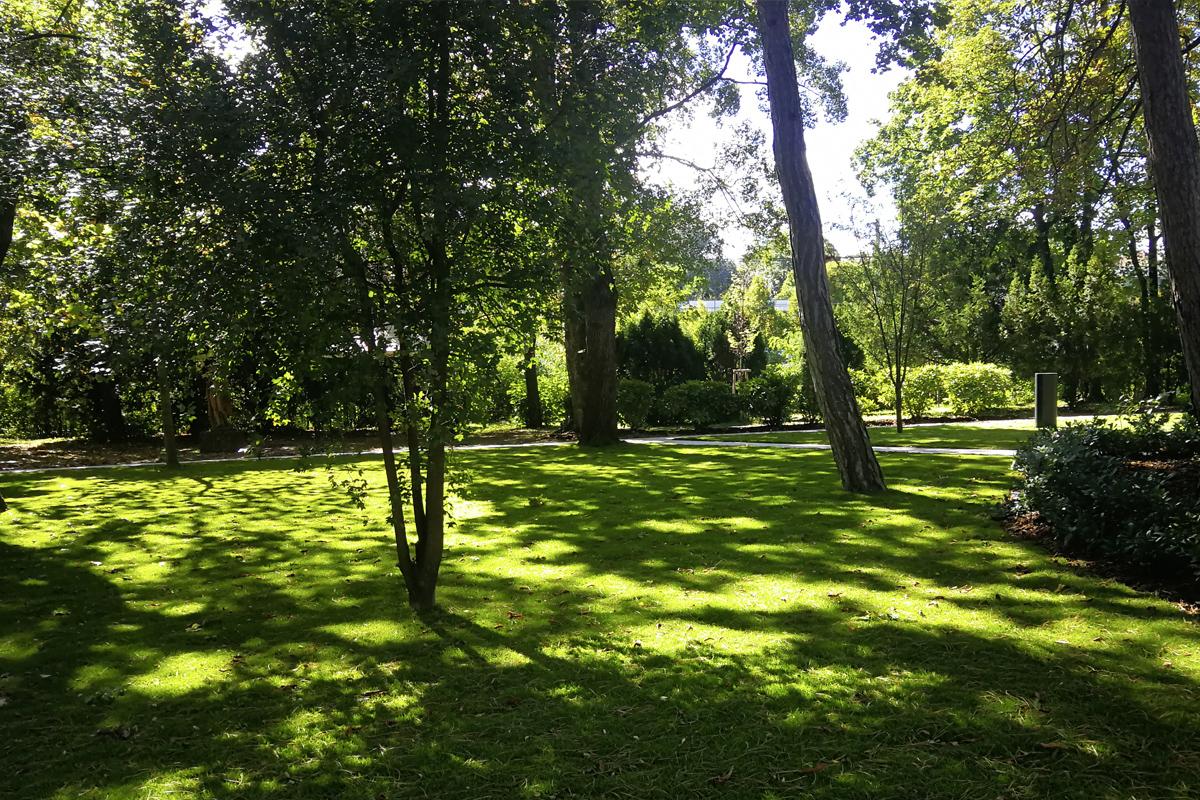 Wilczek Pavillon im Park