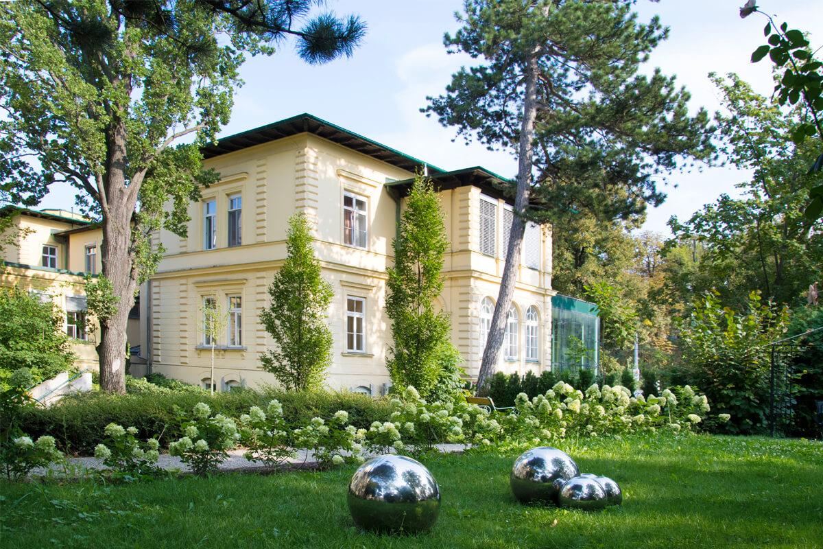 Parkansicht Rudolfinerhaus