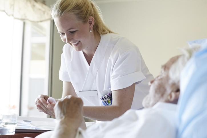 Pflege von Patienten