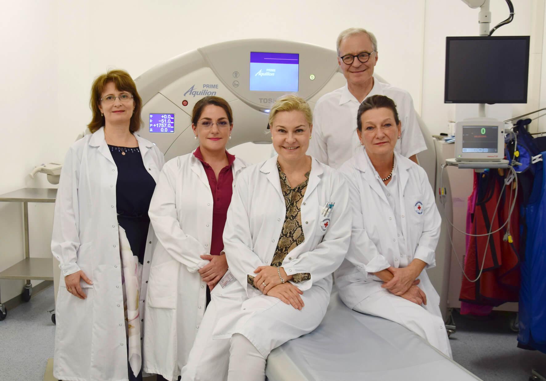 Team der bildgebenden Diagnostik