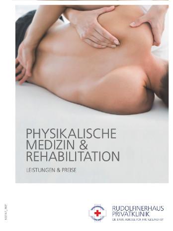 Foldercover Physikalische Medizin & Rehabilitation